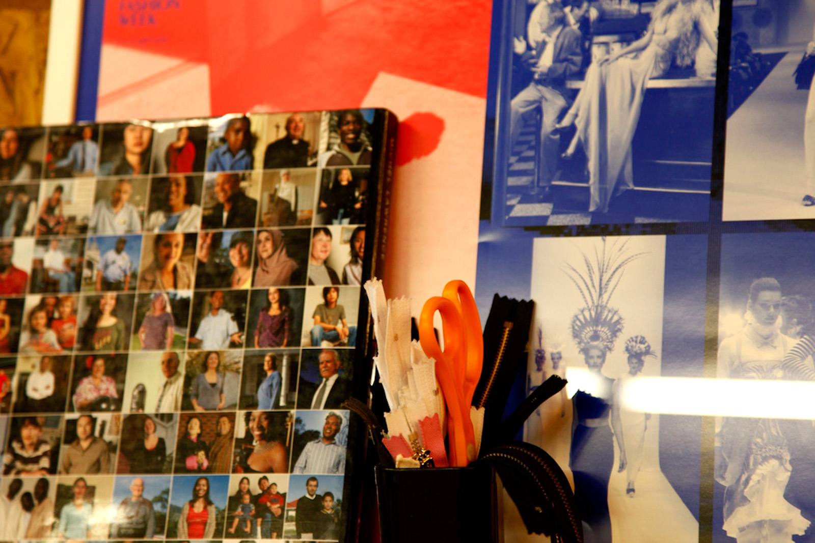 Mood-boards and inspiration for the Studio's design team.